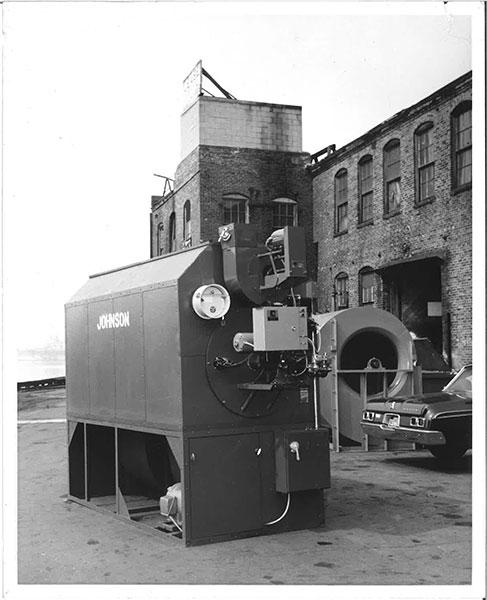 history of the original air-rotation unit