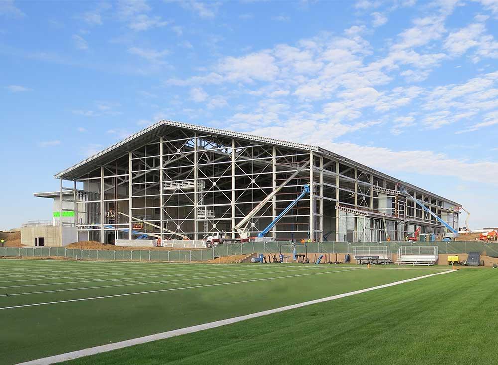 Football Team Installs A Championship Caliber Johnson Air