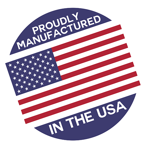 maunfactured usa stamp icon