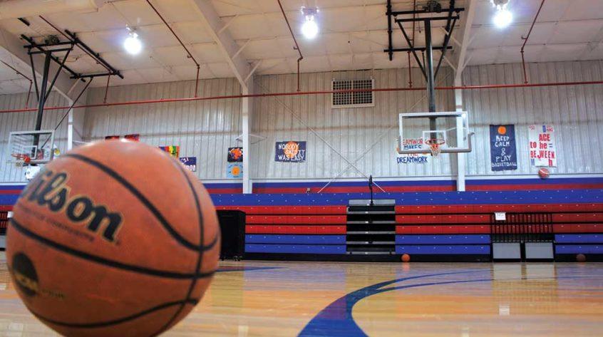 Johnson Air-Rotation School Basketball Gymnasium