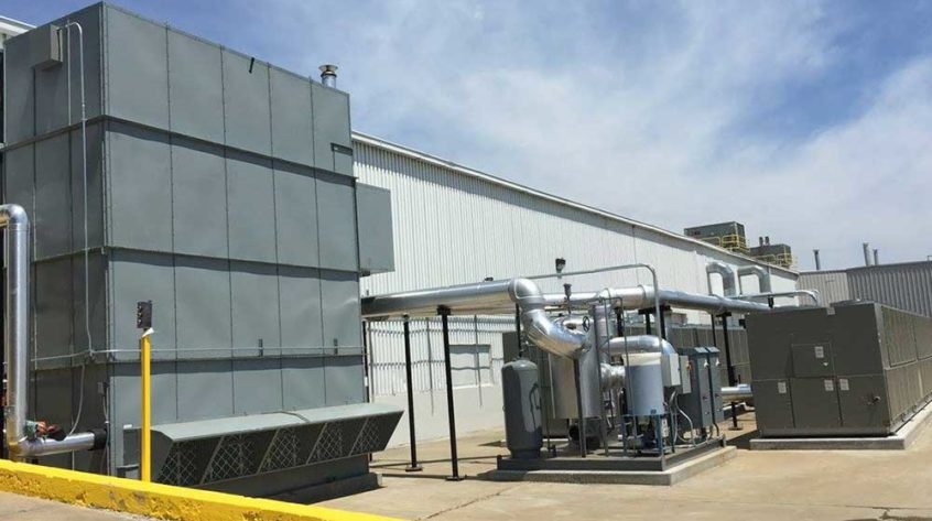 Johnson Air-Rotation Assembly Plant