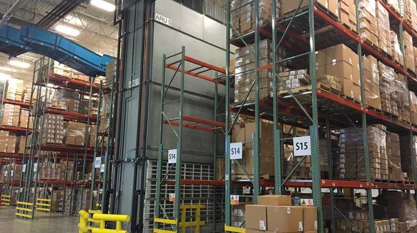 Johnson Air-Rotation Product Sensitive Storage Warehouse