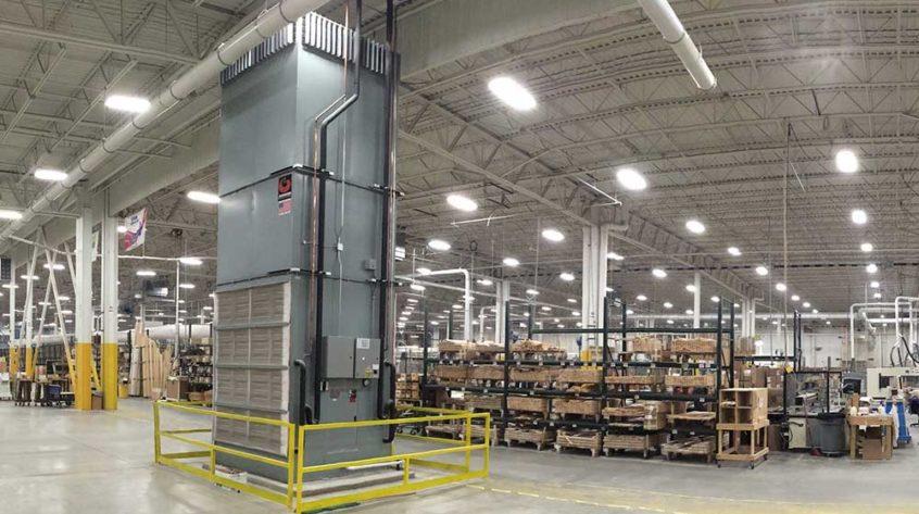 Johnson Air-Rotation Window Manufacturing Facility