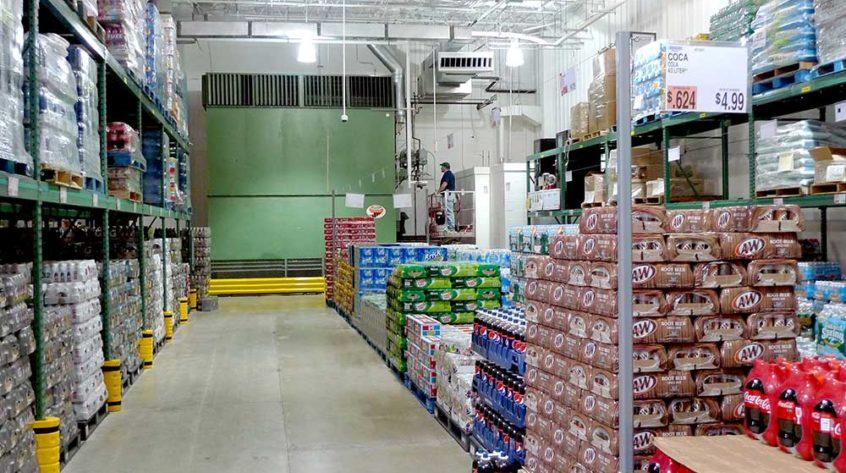 Johnson Air-Rotation Beverage Warehouse