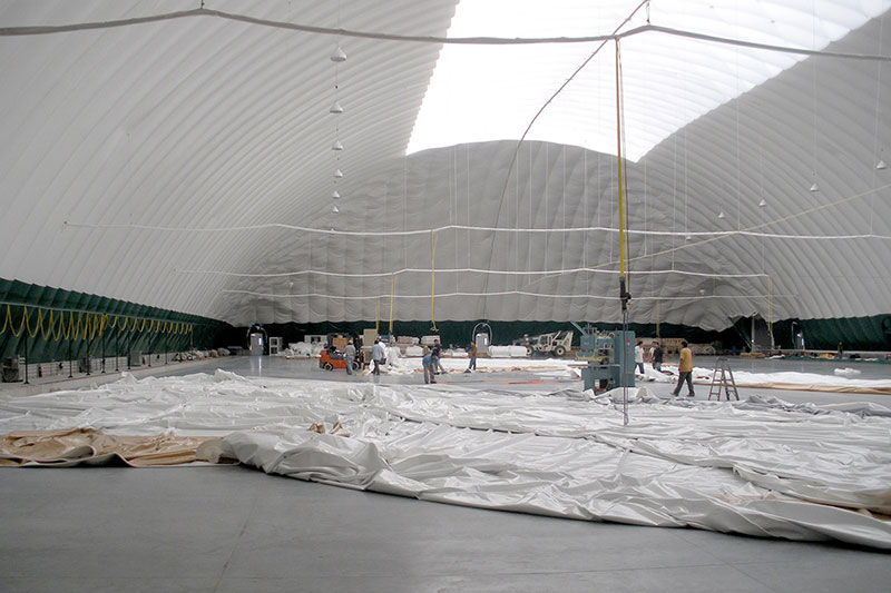 visit our factory - tour our dome