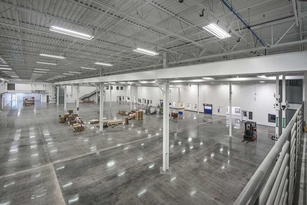 Johnson Air-Rotation Large Pharma Manufacturing Facility