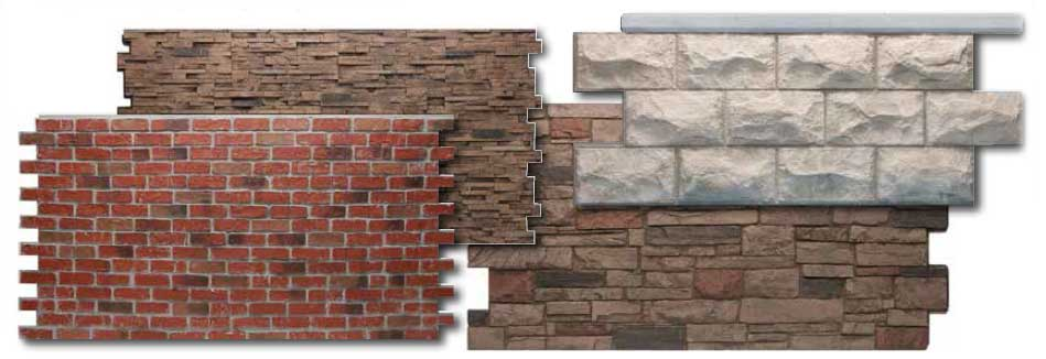 faux stone options