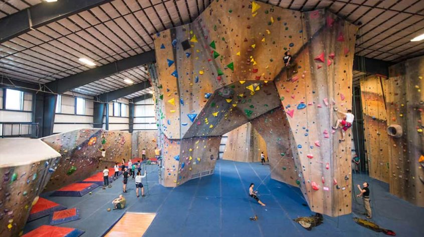 Johnson Air-Rotation Rock Climbing Facility