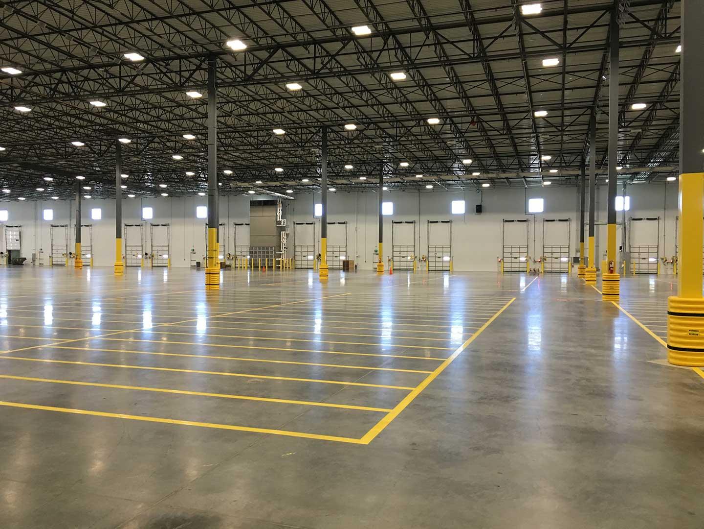 Johnson Air-Rotation Rooftop Units Warehouse