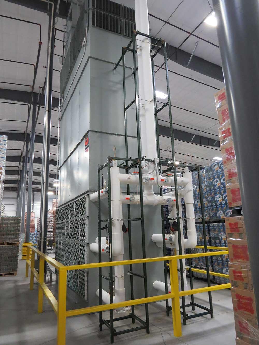 Johnson Conditions Beverage Distribution Center Johnson