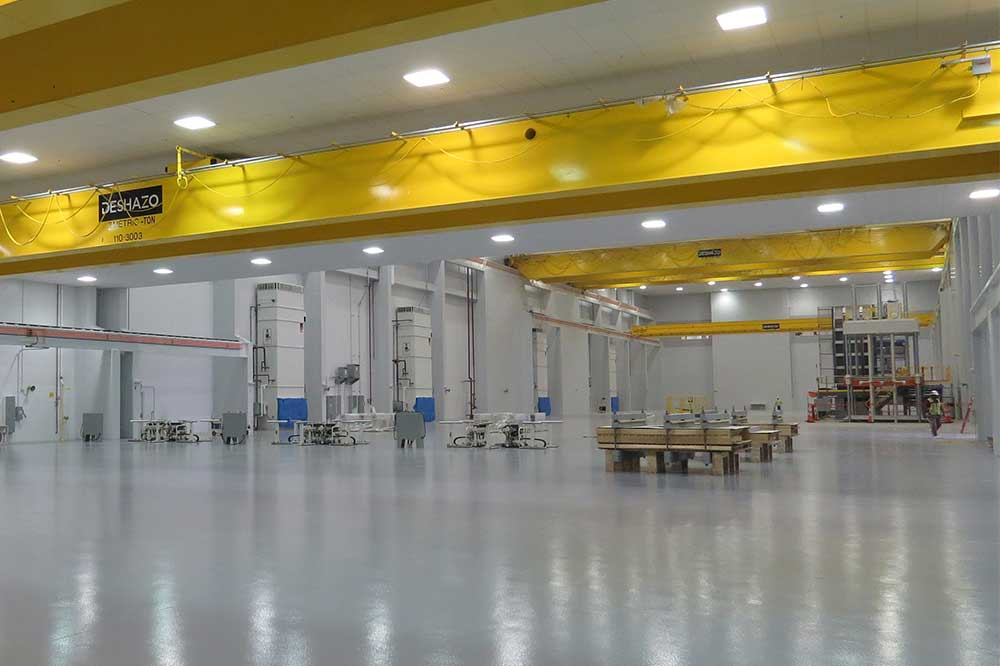 Major Car Company Conditions Factory With Johnson Air