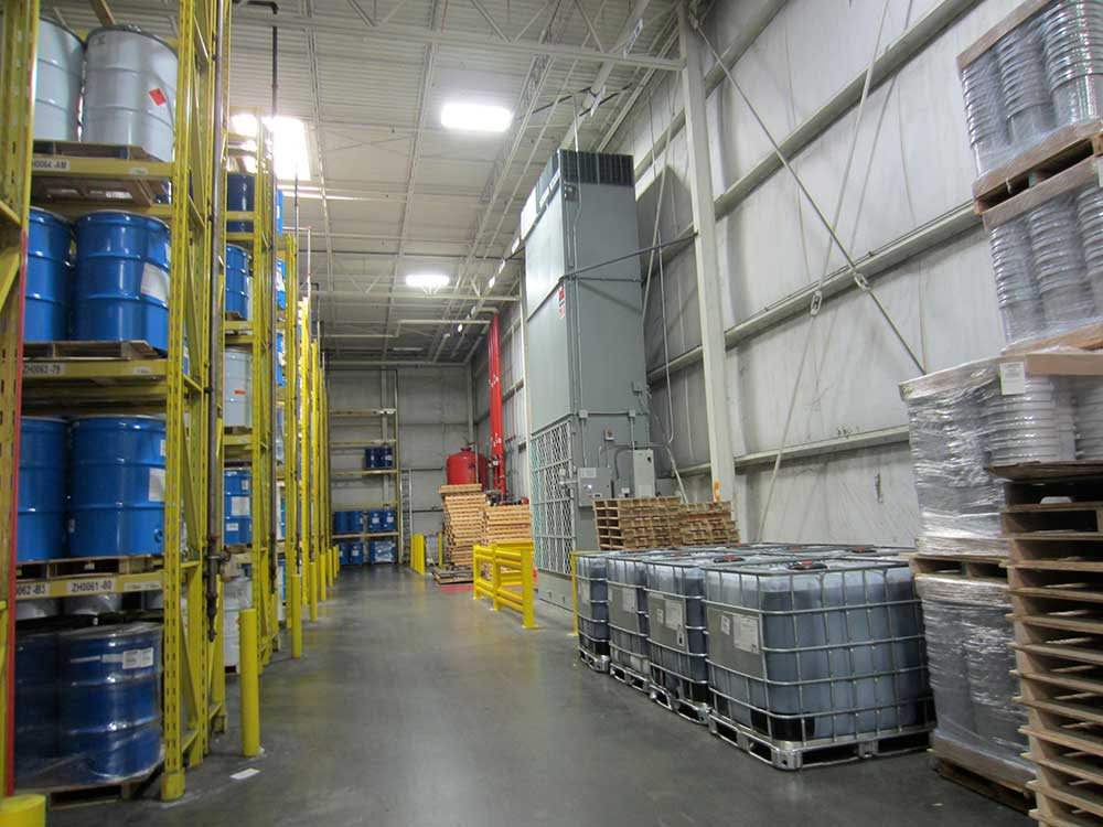 Johnson Conditions Distribution Center For National Paint