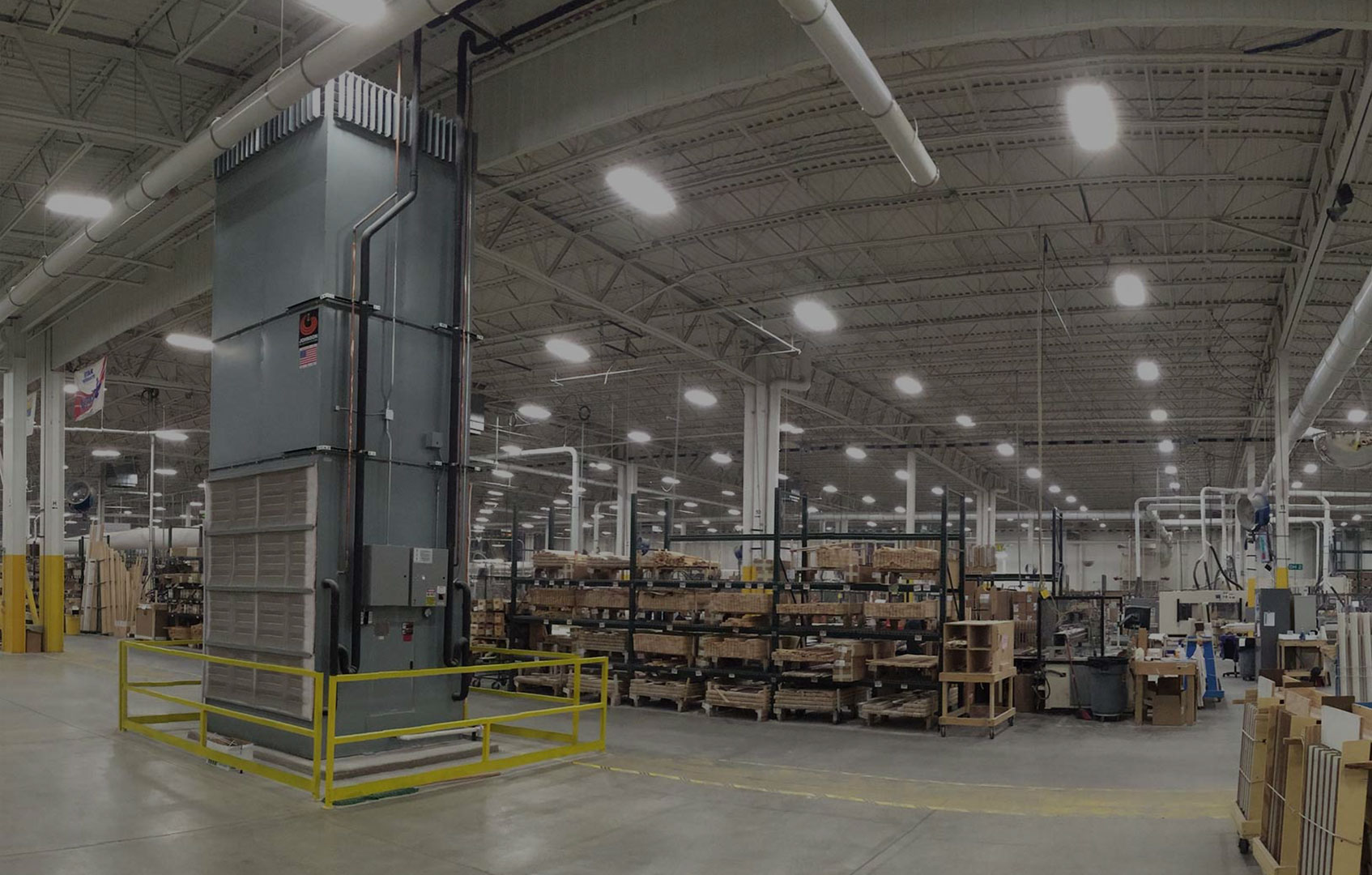 Johnson Air Rotation Hvac System For Large Open Spaces